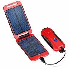 """Зарядное уст-во на солнечных батареях PowerTraveller """"Powermonkey Extreme"""" (Красный)"""