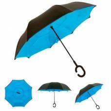 Зонт обратный (голубой)