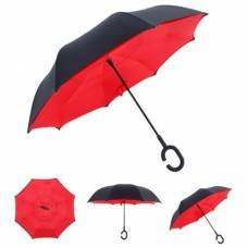 Зонт обратный (красный)