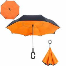 Зонт обратный (оранжевый)