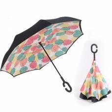 Зонт обратный (листья осенние)