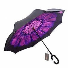 Зонт обратный (фиолетовый цветок)