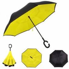 Зонт обратный (желтый)