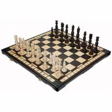 Шахматы подарочные «Галант» из натурального дерева