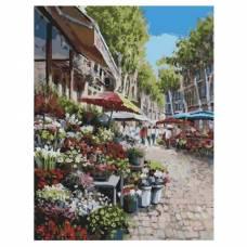"""Картина по номерам """"Цветочный рынок"""" размер 40x50 (арт. GX3450)"""