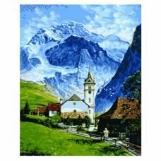 """Картина по номерам """"Гриндельвальд"""" размер 40x50 (арт. GX9861)"""
