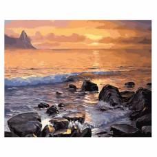 """Картина по номерам """"Каменистый берег моря"""" размер 40x50 (арт. GX5749)"""