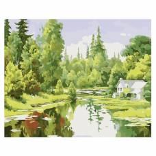 "Картина по номерам ""Лесная идиллия"" размер 40x50 (арт. MG6018)"