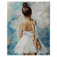 "Картина по номерам ""Маленькая балерина"" размер 40x50 (арт. MG2054)"