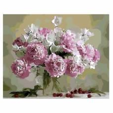 "Картина по номерам ""Натюрморт в розовых тонах"" размер 40x50 (арт. GX8744)"