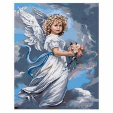 "Картина по номерам ""Небесный ангел"" размер 40x50 (арт. GX3232)"
