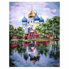 """Картина по номерам """"Николо-Угрешский монастырь"""" размер 40x50 (арт. GX22071)"""
