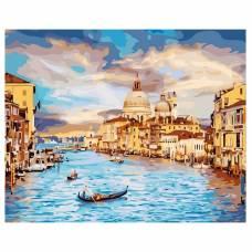 "Картина по номерам ""Очарование Венеции"" размер 40x50 (арт. GX22296)"