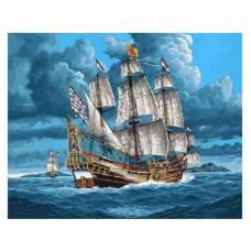 "Картина по номерам ""Парусник в открытом море"" размер 40x50 (арт. GX3602)"