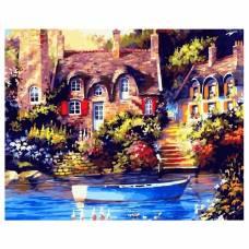 "Картина по номерам ""Причал у дома"" размер 40x50 (арт. GX21502)"