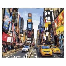 """Картина по номерам """"Шум большого города"""" размер 40x50 (арт. GX5377)"""