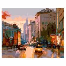 "Картина по номерам ""Улица Поварская"" размер 40x50 (арт. MG2042)"
