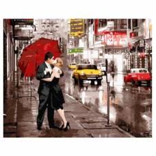 """Картина по номерам """"Вдвоем в Нью-Йорке"""" размер 40x50 (арт. GX5003)"""