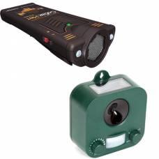"""Комплект отпугивателей собак """"Weitech WK0053"""" и """"Собакам.Нет Вспышка+"""""""