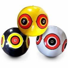 """Отпугиватель птиц - виниловые шары с глазами хищника """"Scare-Eye"""", 3 шт."""