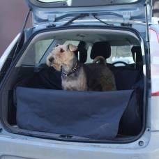 """Автогамак для перевозки собак в багажнике """"OSSO Car Premium Grey"""""""