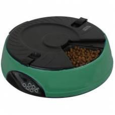 """Автоматическая электронная кормушка для кошек и мелких пород собак """"Feed-Ex PF6 Green"""""""